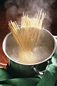 Boiling Pasta in a Pot