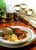 Kermis goose with quince sauerkraut & pretzel dumplings