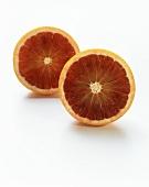 A Halved Blood Orange