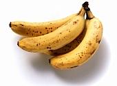 Bunch of very ripe bananas