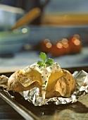 Baked Potato with Sour Cream