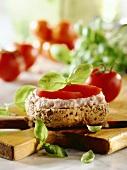 Bagel Sandwich with Tuna