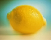 Whole Lemon in Soft Focus