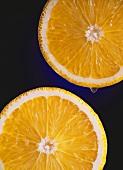 Two Slices of Oranges