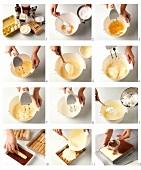Making tiramisu