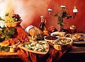 Italian appetiser buffet