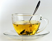 Herb Tea with Marigolds
