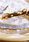 Panforte di Siena (fruit and nut cake, Italy)
