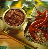 Harissa (scharfe arabische Würzzpaste)