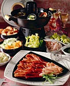 Chinese fondue for Christmas
