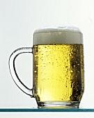 Beer (light) in tankard