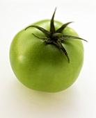 A green tomato