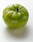 A green beefsteak tomato