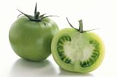 Sliced Green Tomato