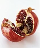 Half a pomegranate