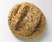 A mixed-grain bread roll