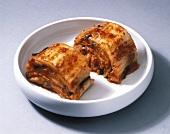 Kimchi (spicy Korean leaf beet dish)