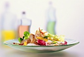 Chinese Vegetable Salad with Chicken and Cellophane Noodles