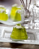 Green lime jelly
