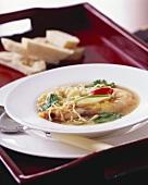 Yabbi noodle soup