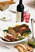 Arista alla fiorentina (roast pork with rosemary), Italy