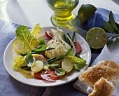 Mediterranean peasant's salad