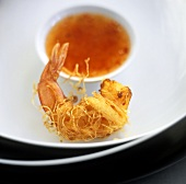 Shrimp with Sauce