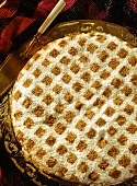Moroccan chicken pate with almonds & cinnamon (Bastilla)