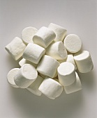 A heap of marshmallows