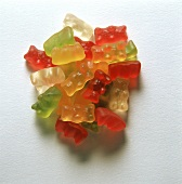 A heap of gummi bears