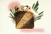 Whole Grain Sandwich with Roast Beef