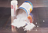 Sweetener: powder, tablets and packaging
