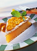 Praline gateau: Campari and orange