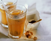 Anti-flu punch (Assam tea with citrus fruit juice)