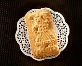 German shaped biscuits (Spekulatius)