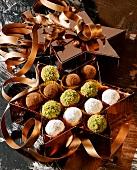 Advocaat truffle in gift box