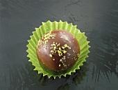 Pistachio and Grand Manier chocolate