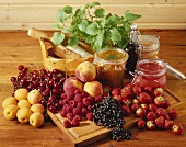 Jams and fruit for jam-making