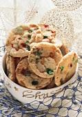 Amerikanische Bonbonkekse (Candy Cookies)