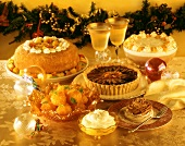 Cakes, gateaux and desserts for Christmas