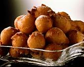 Bolinhos de Chuva (deep-fried dough balls, Brazil)