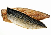 Two smoked pepper mackerel fillets