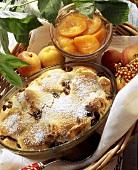 Kipferlkoch: Austrian dessert with raisins