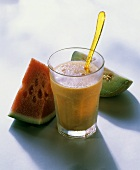 A Melon Smoothie