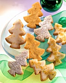 Pistachio Cookie Christmas Trees