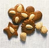 Braune Kuchen; Christmas biscuits from Hamburg