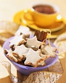 A bowl of cinnamon stars