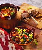 Majorcan vegetable stew with lamb