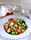 Ratatouille with courgettes, aubergines, tomatoes & peppers