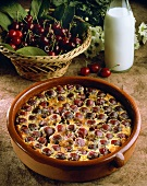 Clafouti with cherries